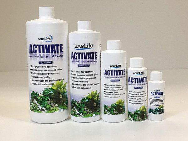AquaLife Activate Saltwater 8oz Aquarium Starter and Cleaner