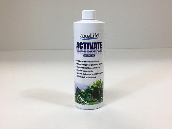 AquaLife Activate Freshwater 2oz Aquarium Starter and Cleaner