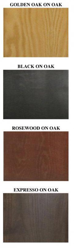 Serenity Series Tall Black Oak Cabinet 72x24x36