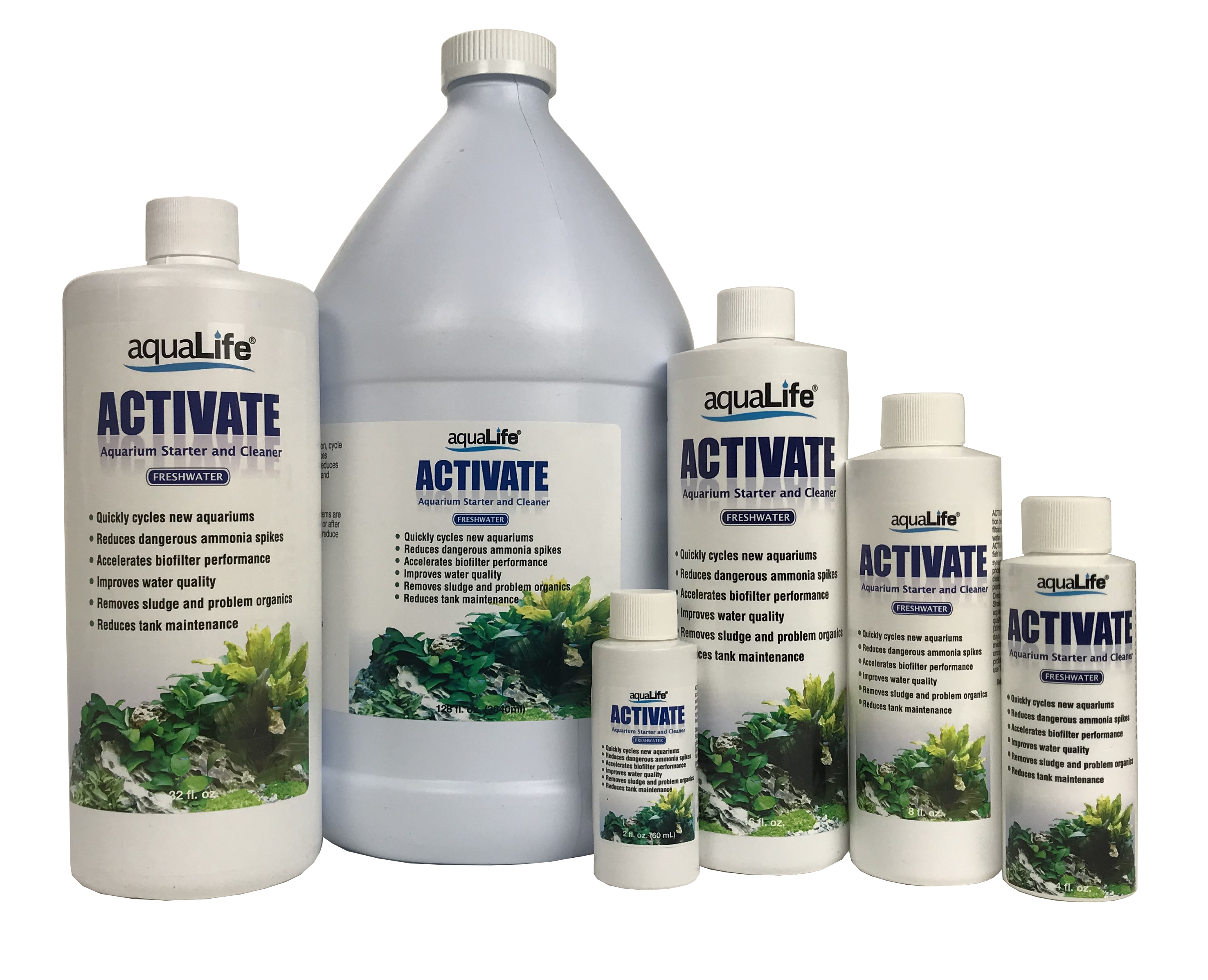 Activate Freshwater Gallon Aquarium Starter and Cleaner