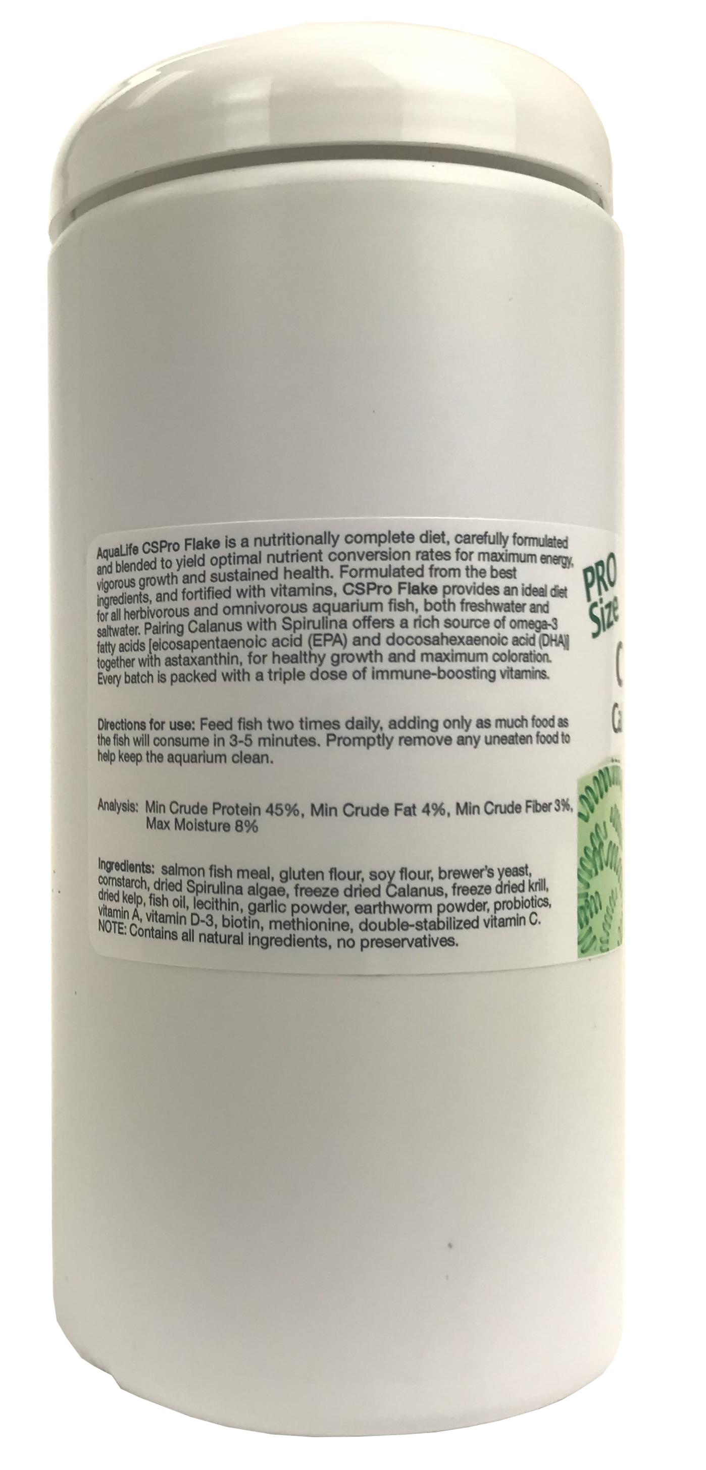 CS Pro Flake Calanus & Spirulina Food Store Use 2 oz