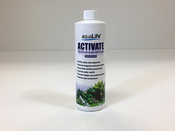 AquaLife Activate Saltwater 4oz Aquarium Starter and Cleaner