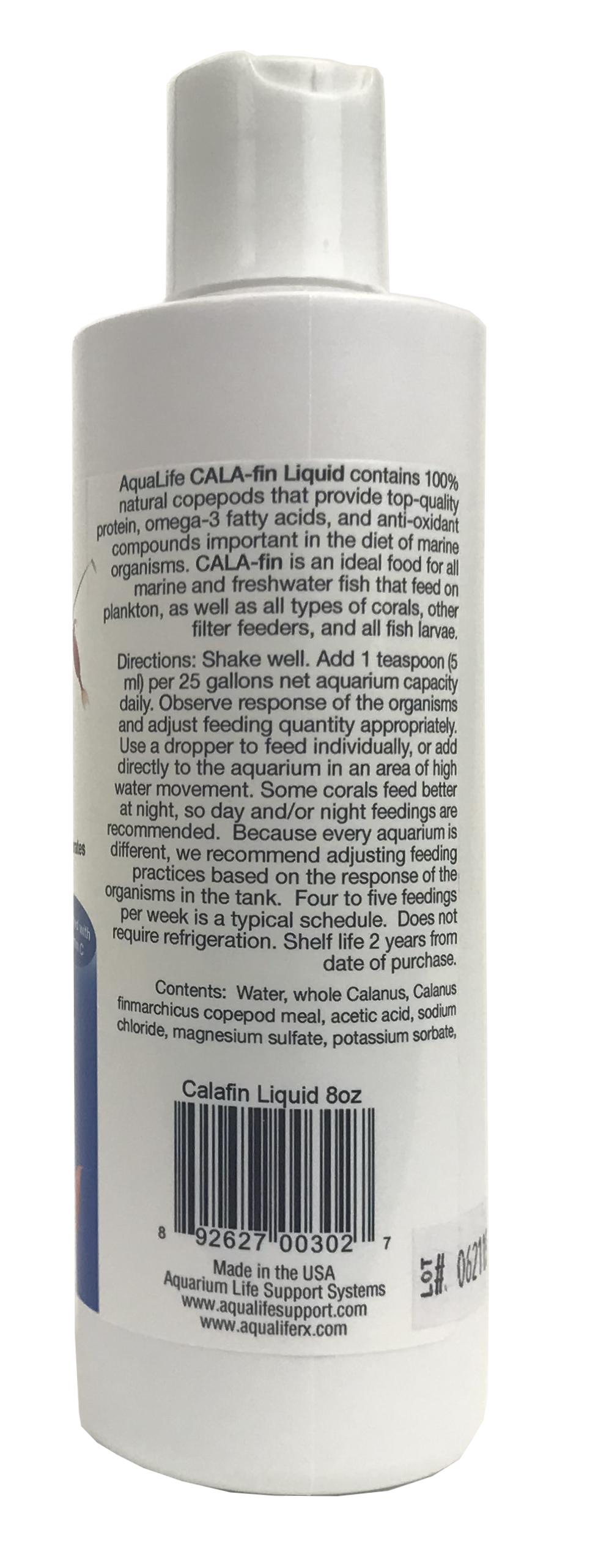 CALA-fin Liquid 8 oz Marine Zooplankton