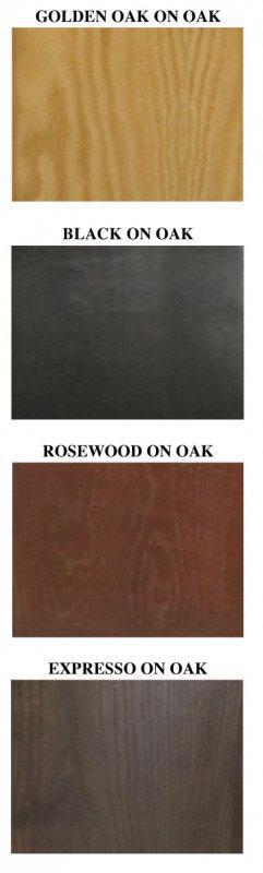 Serenity Series Tall Rosewood Oak Canopy 72x24x15