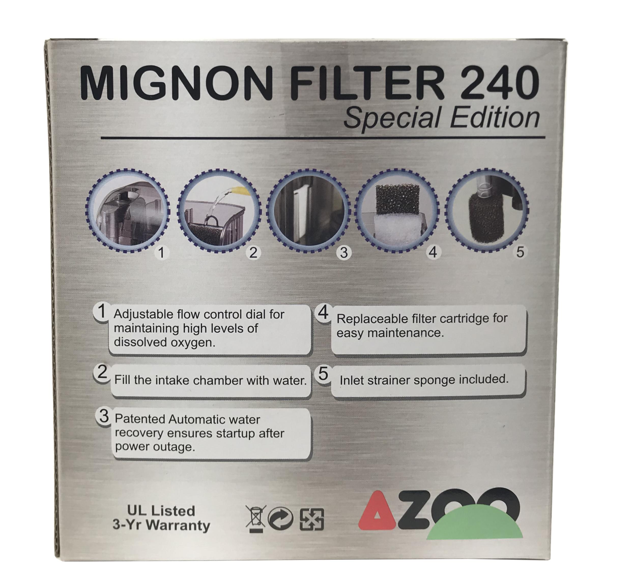 Mignon Filter 240 Special Edition - 64 GPH