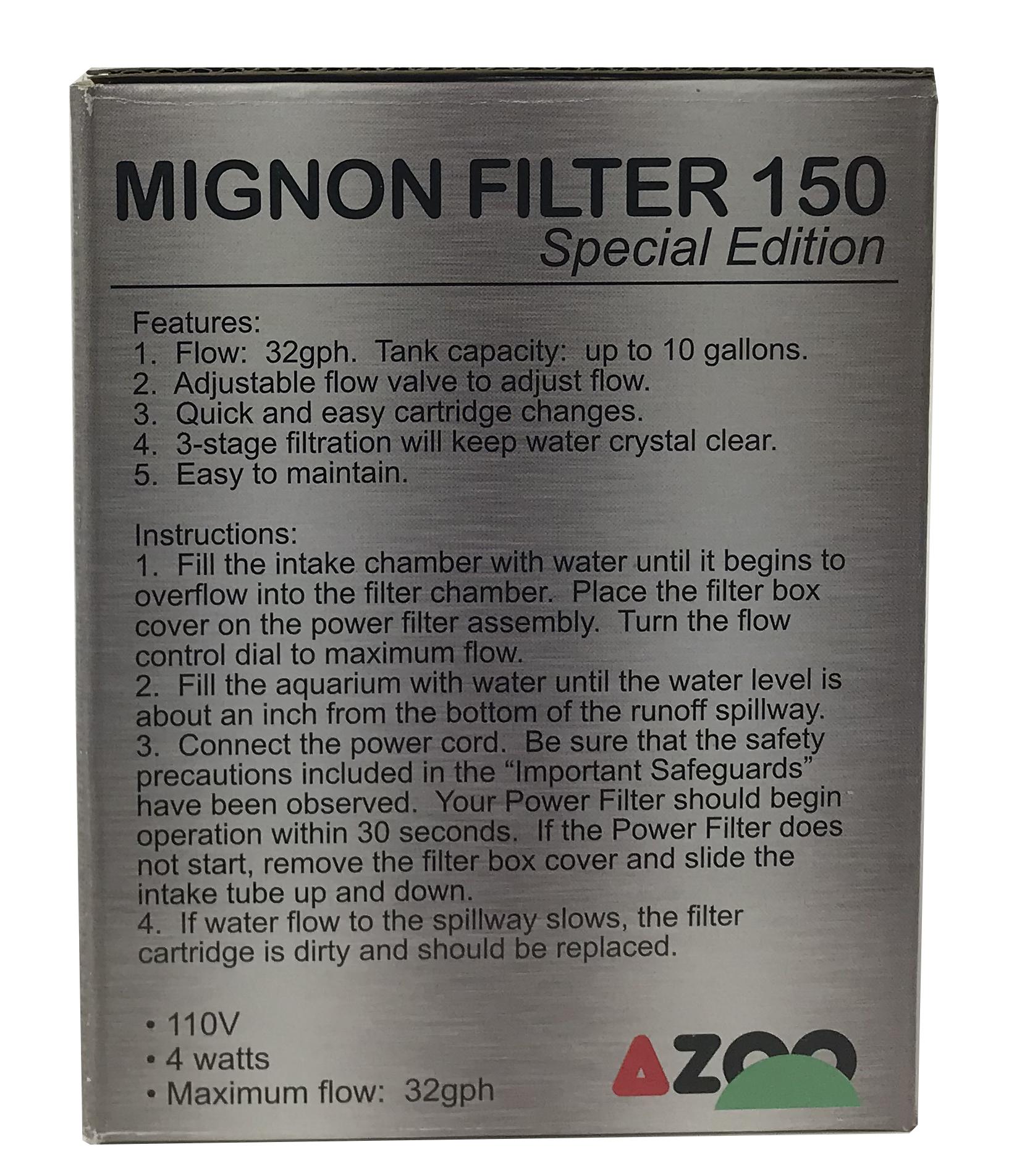Mignon Filter 150 Special Edition - 40 GPH