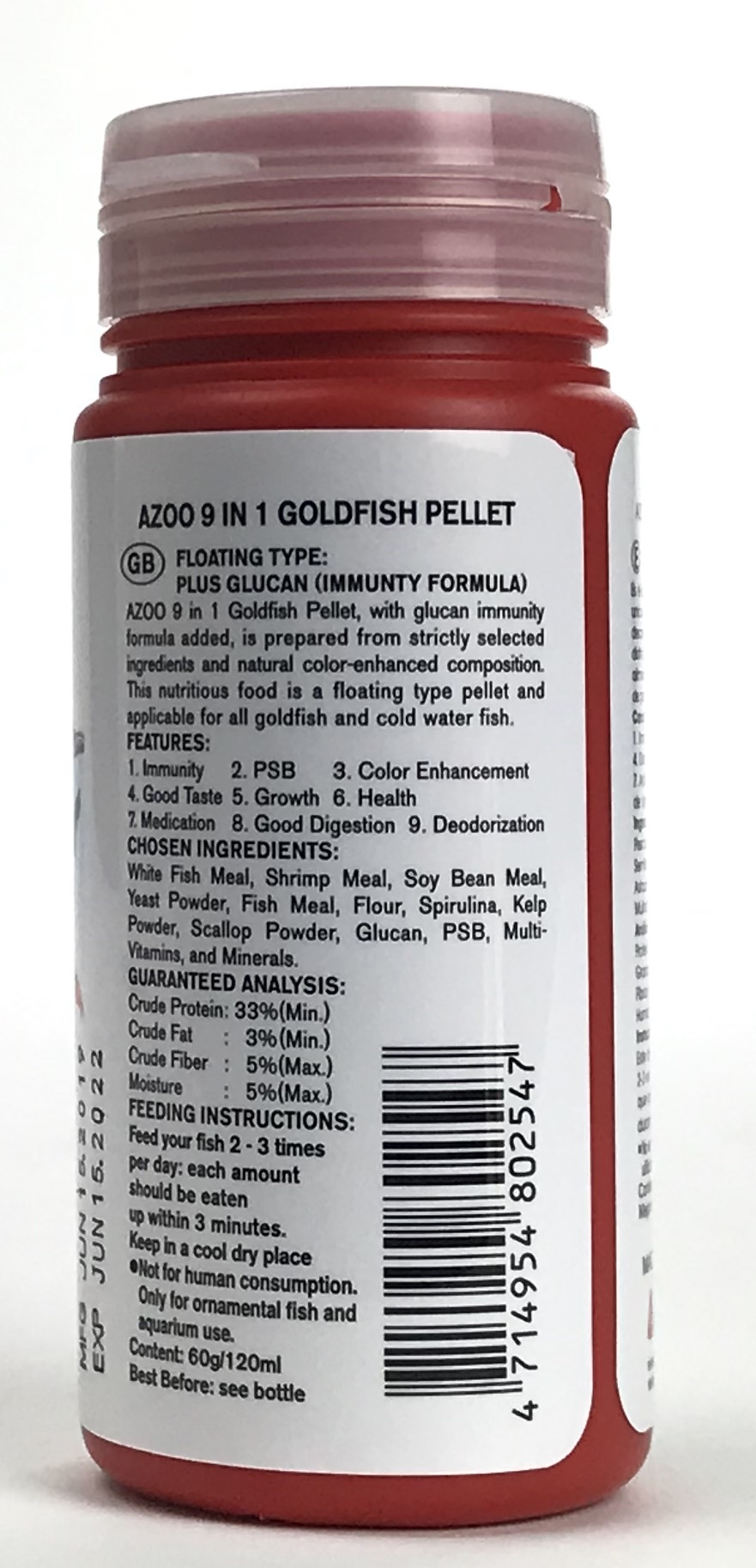 Goldfish Pellet - 120 ml