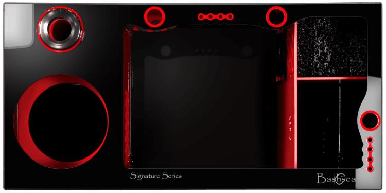 Bashsea SS-30 Signature Series Sump Black/Red 30
