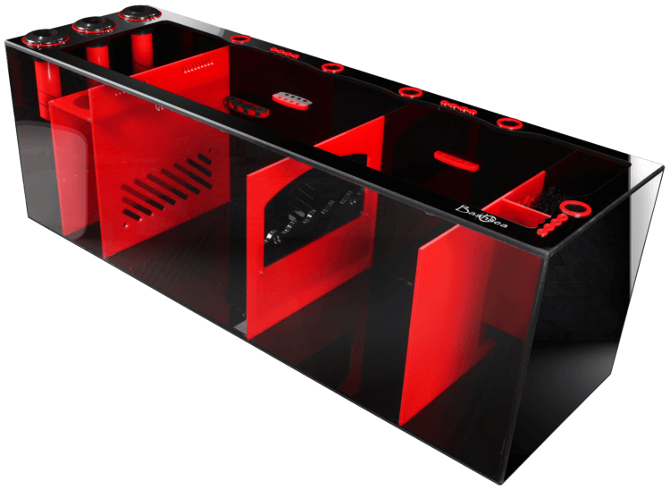 Bashsea SS-48 Signature Series Sump Black/Red 48