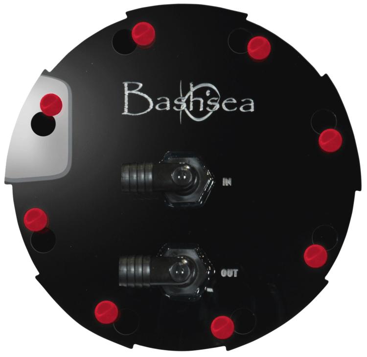 Bashsea Media Chamber 6-18 Black/Red