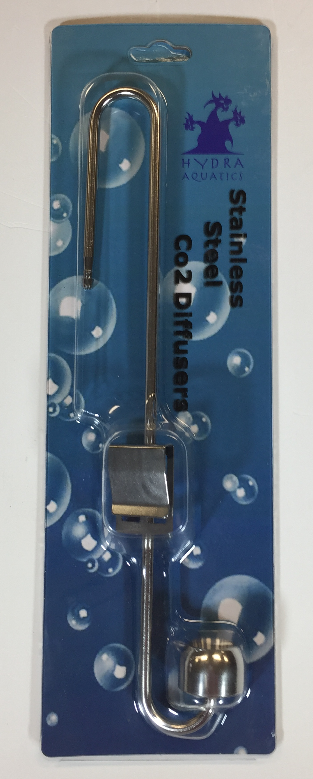 Stainless CO2 Diffuser w/ 6 mm Clip - 9.84