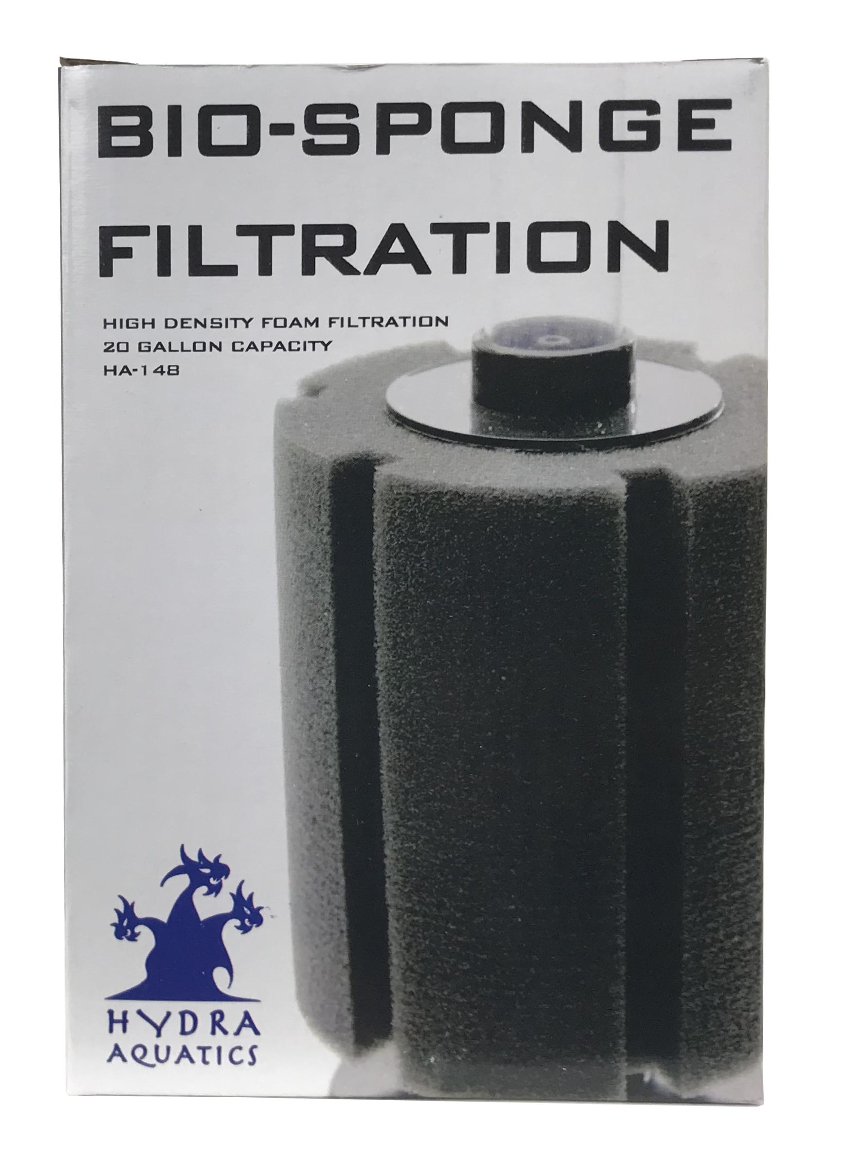 Hydra Bio-Sponge Filter - 20 gallon
