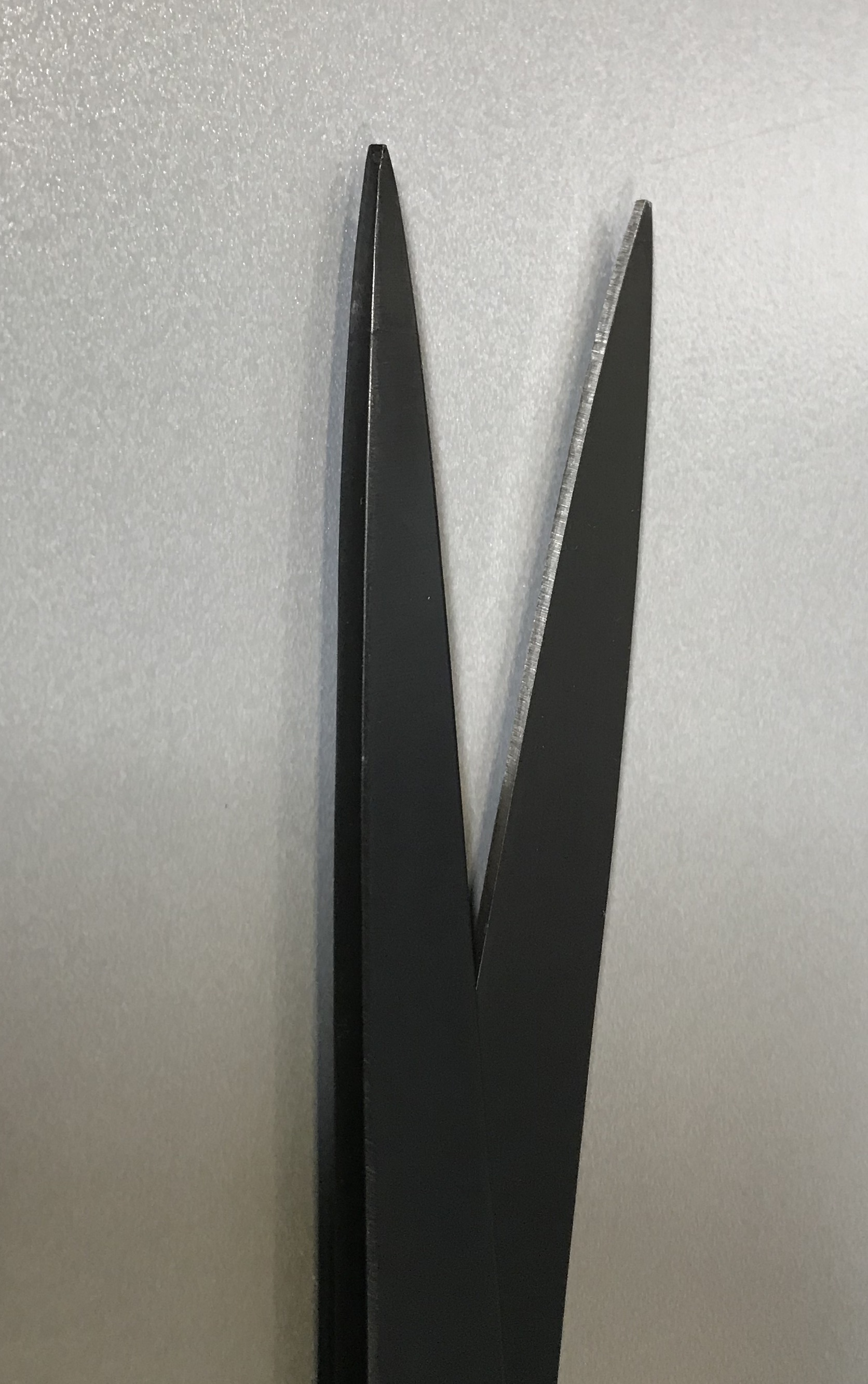 Straight Trimming Scissors - Black Oxide - 10