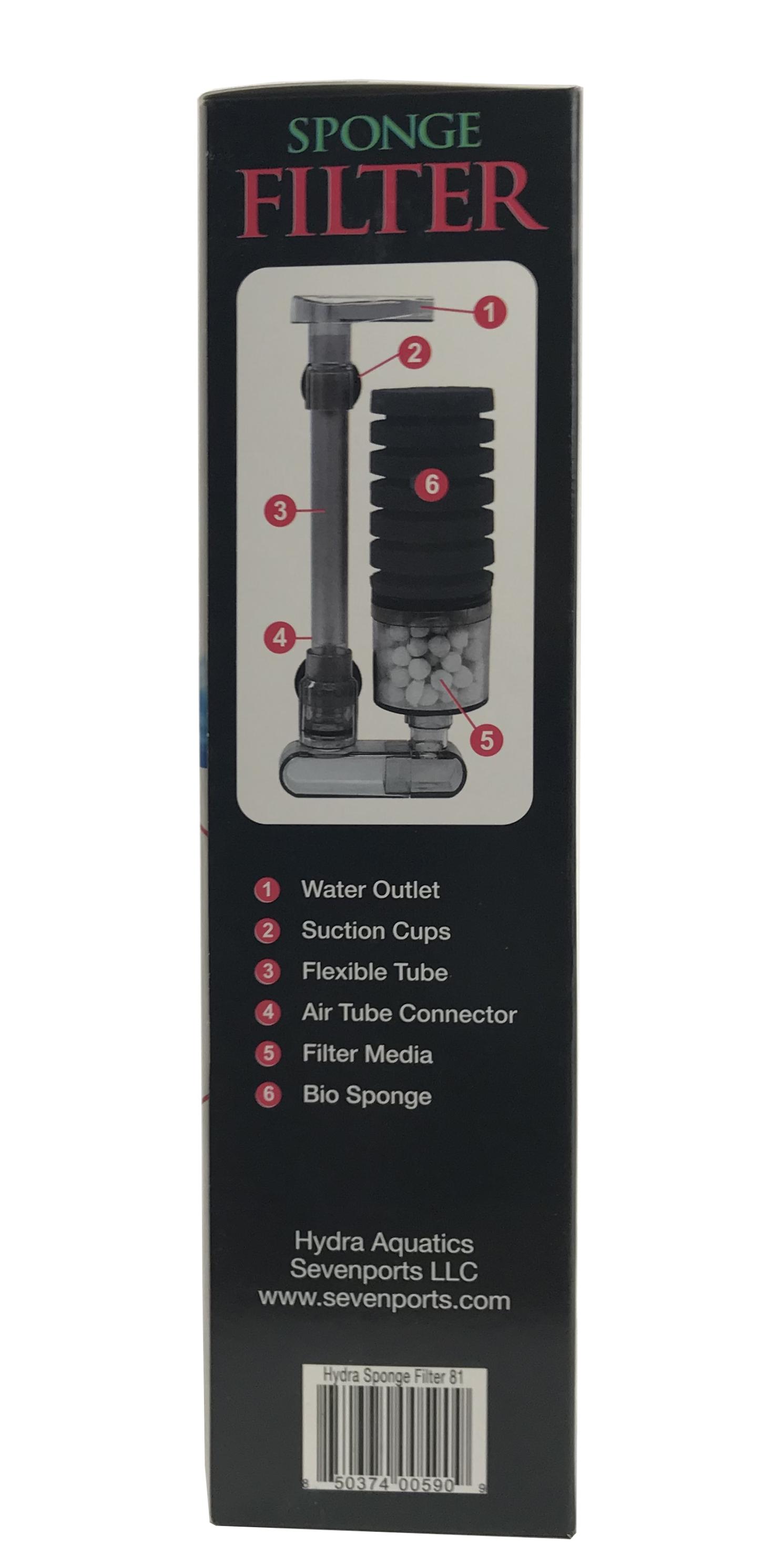 Hydra High Efficiency Sponge Filter 81