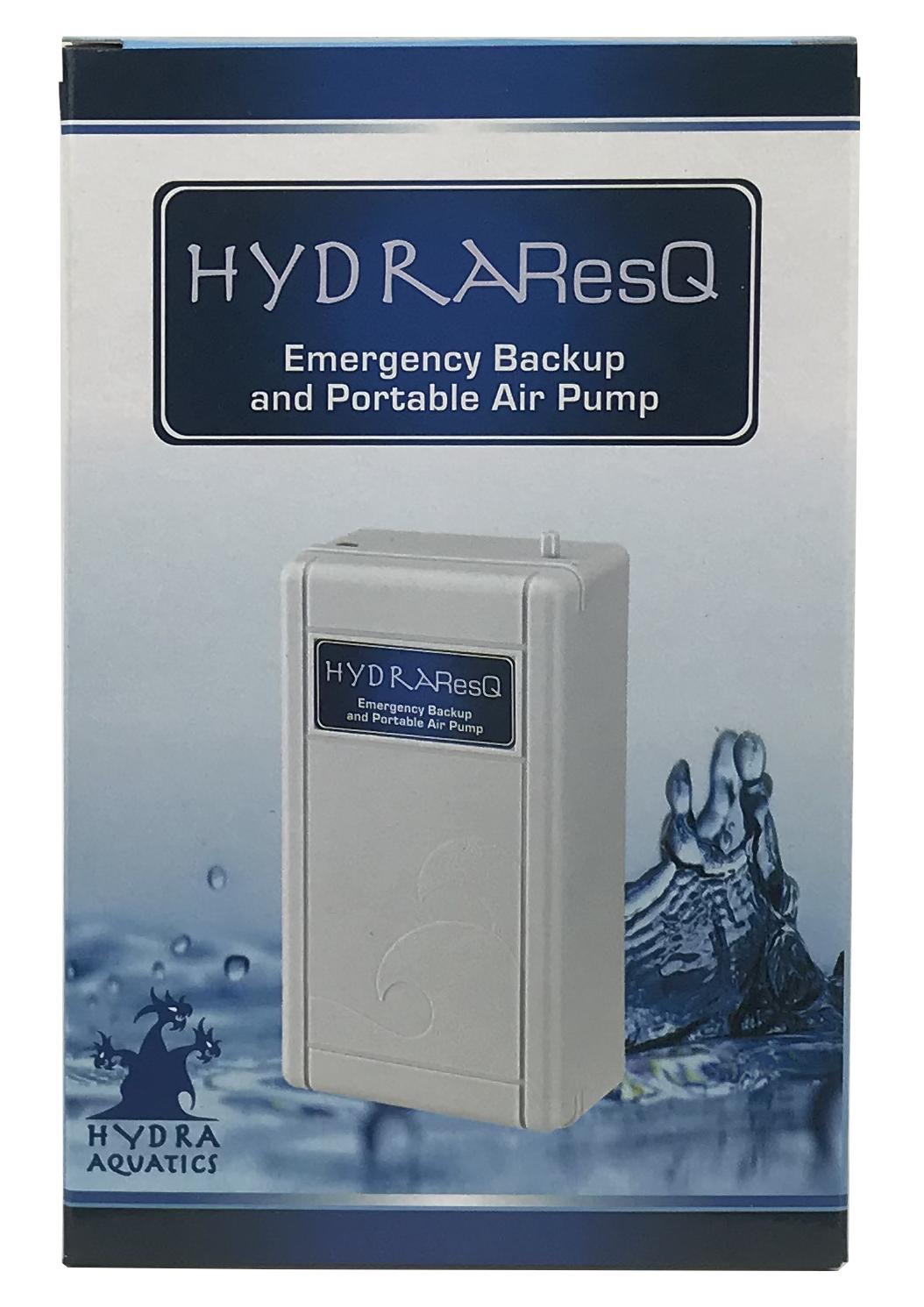 HydraResQ Emergency Backup & Portable Air Pump