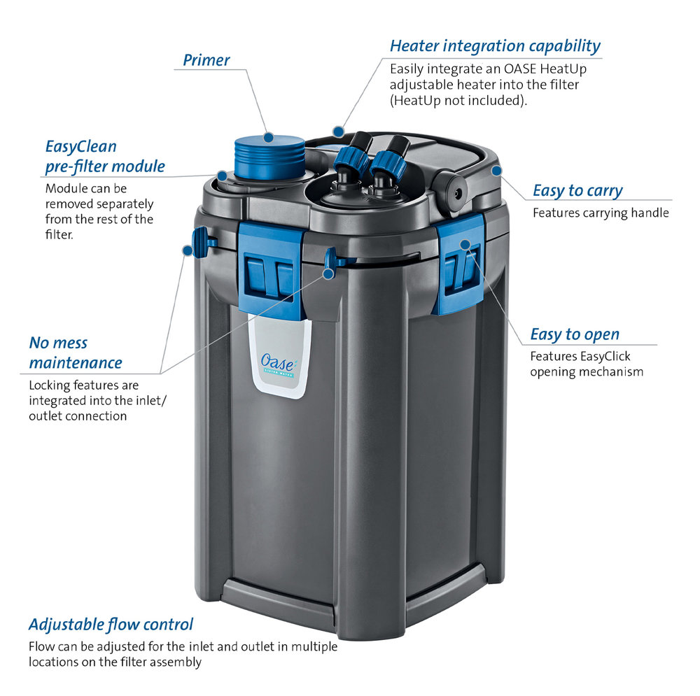 OASE BioMaster Thermo 600 Canister Filter with Heater