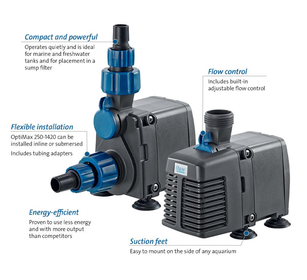 OASE Optimax Indoor Aquatics 560 Pump 560 gph