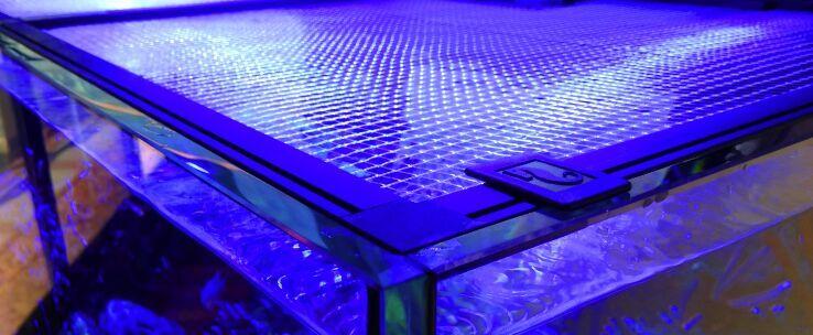 DIY Aquarium Net Cover Tank Net Screen 48
