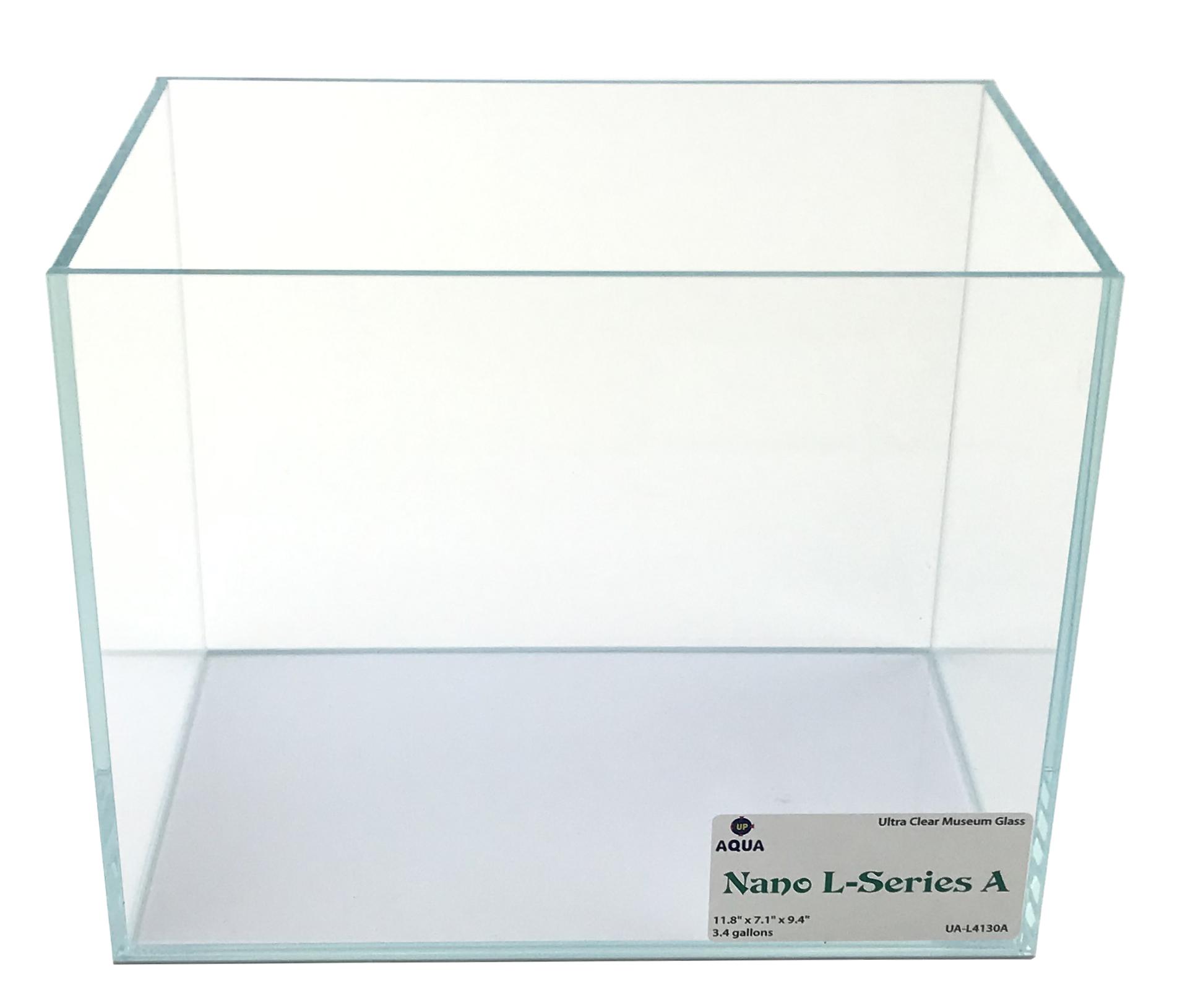 Nano L-series (LI) Ultra Clear Aquarium A - 3.4 Gal. 11.8