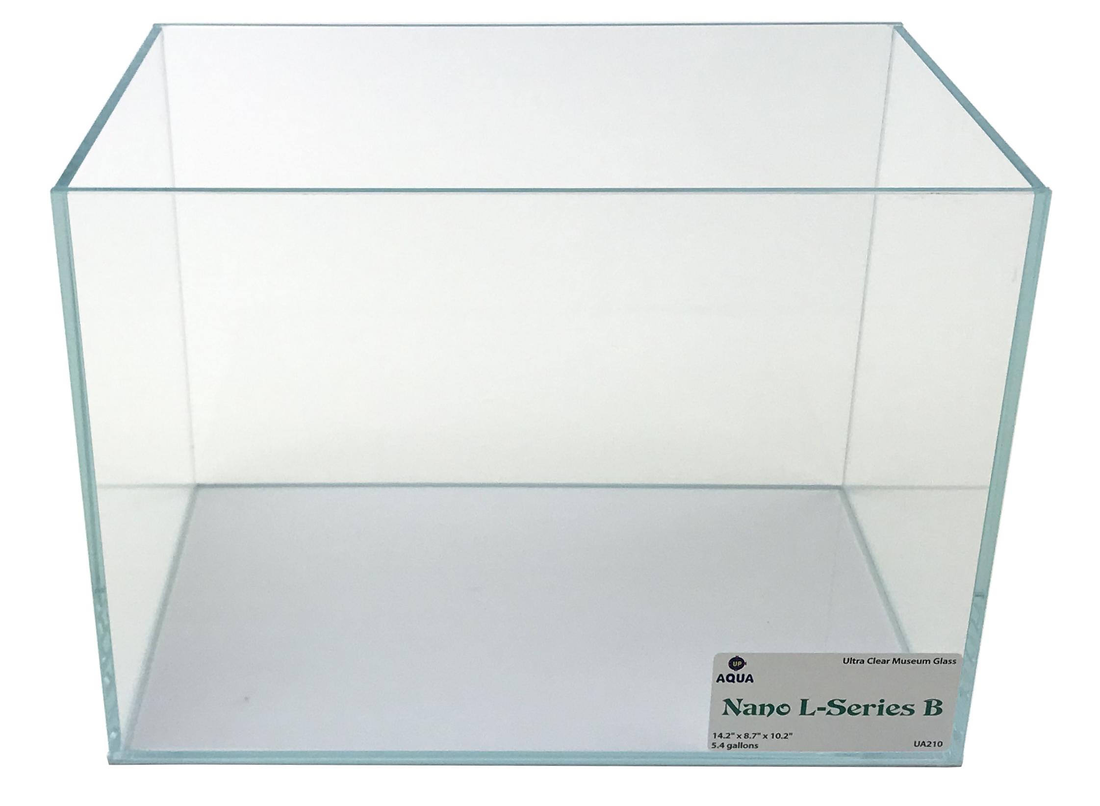 Nano L-series (LI) Ultra Clear Aquarium B - 5.4 Gal. 14.2
