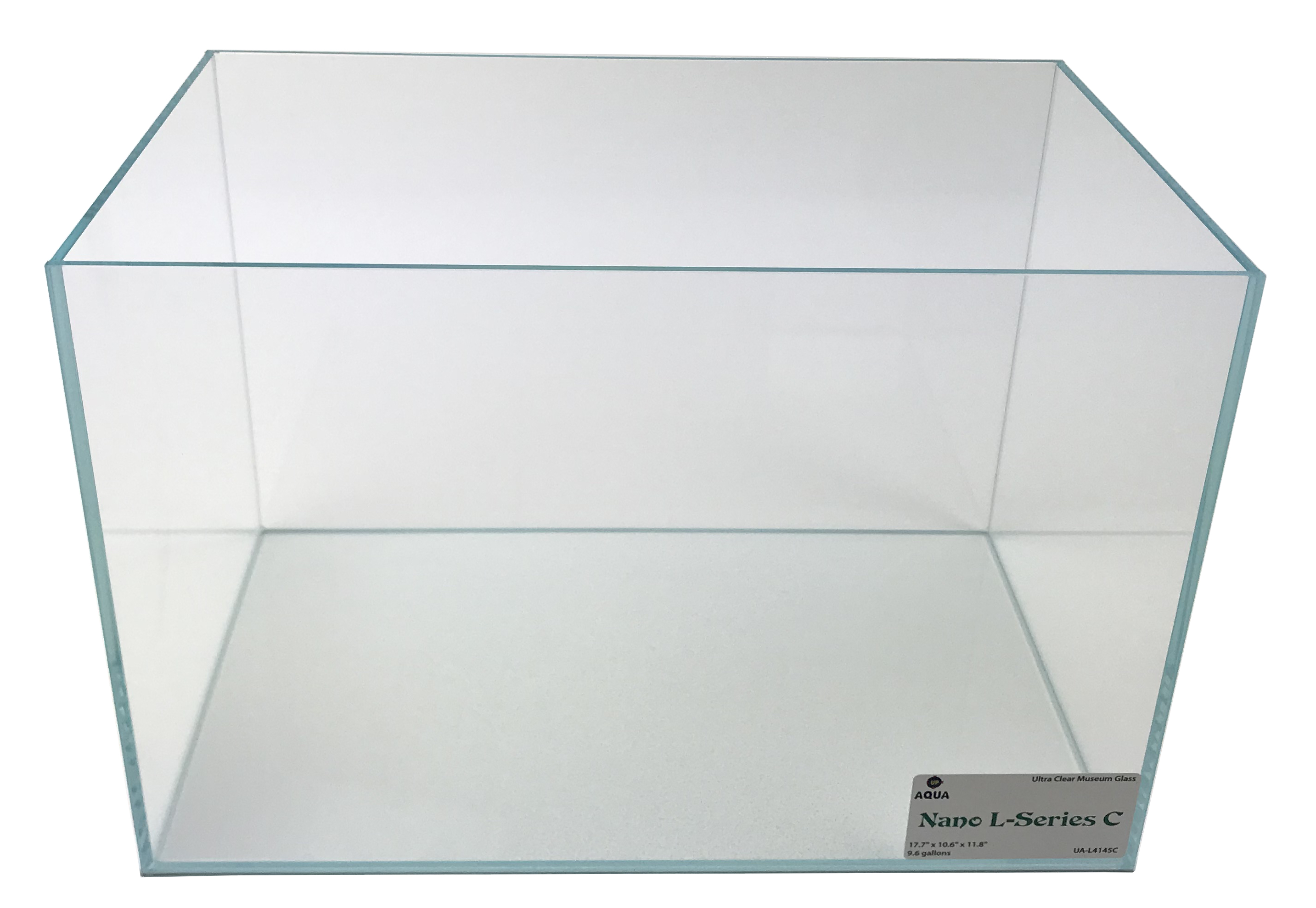 Nano L-series (LI) Ultra Clear Aquarium C - 9.6 Gal. 17.7