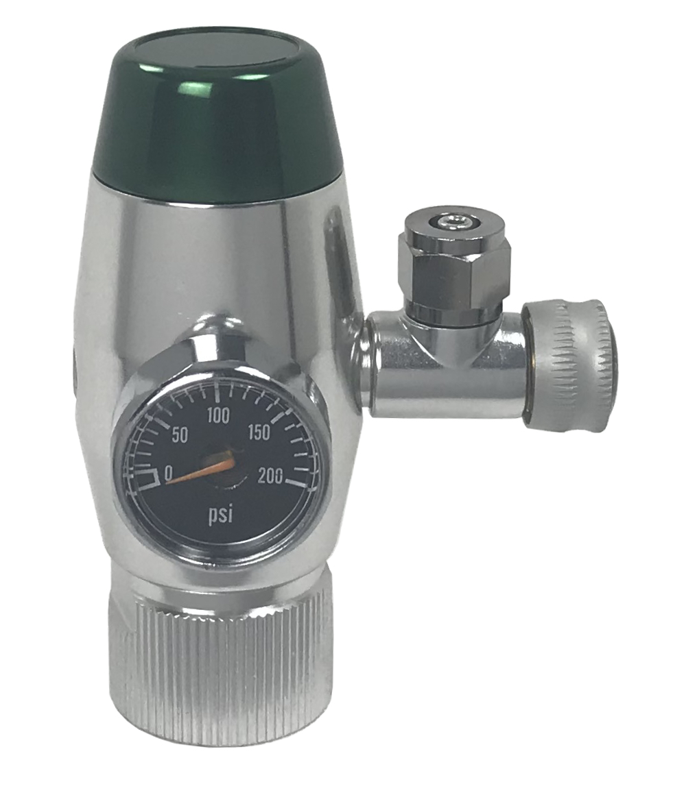 CO2 Regulator - Decompression Design with Gauge