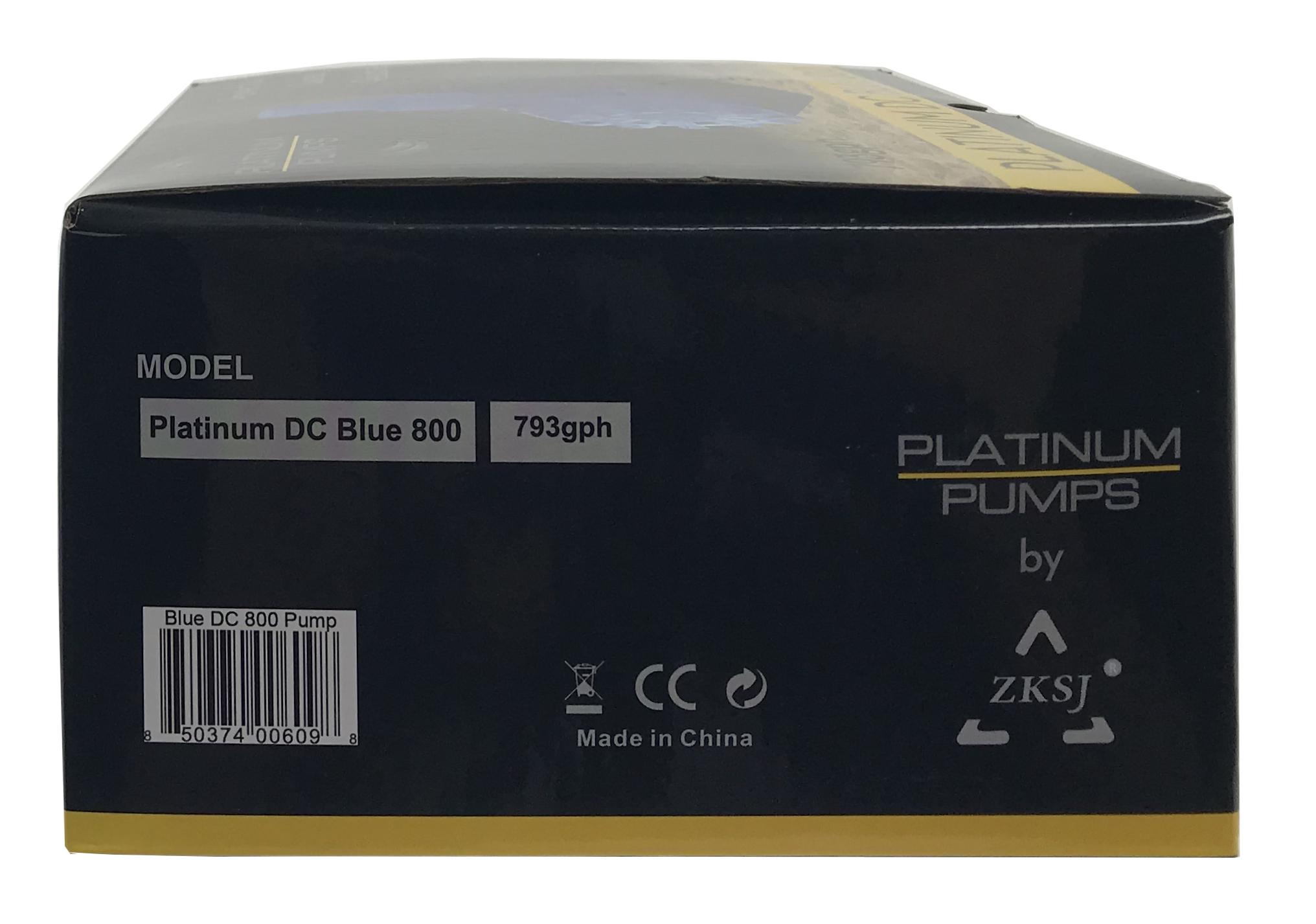 Platinum DC Blue 800 Pump - 793 gph