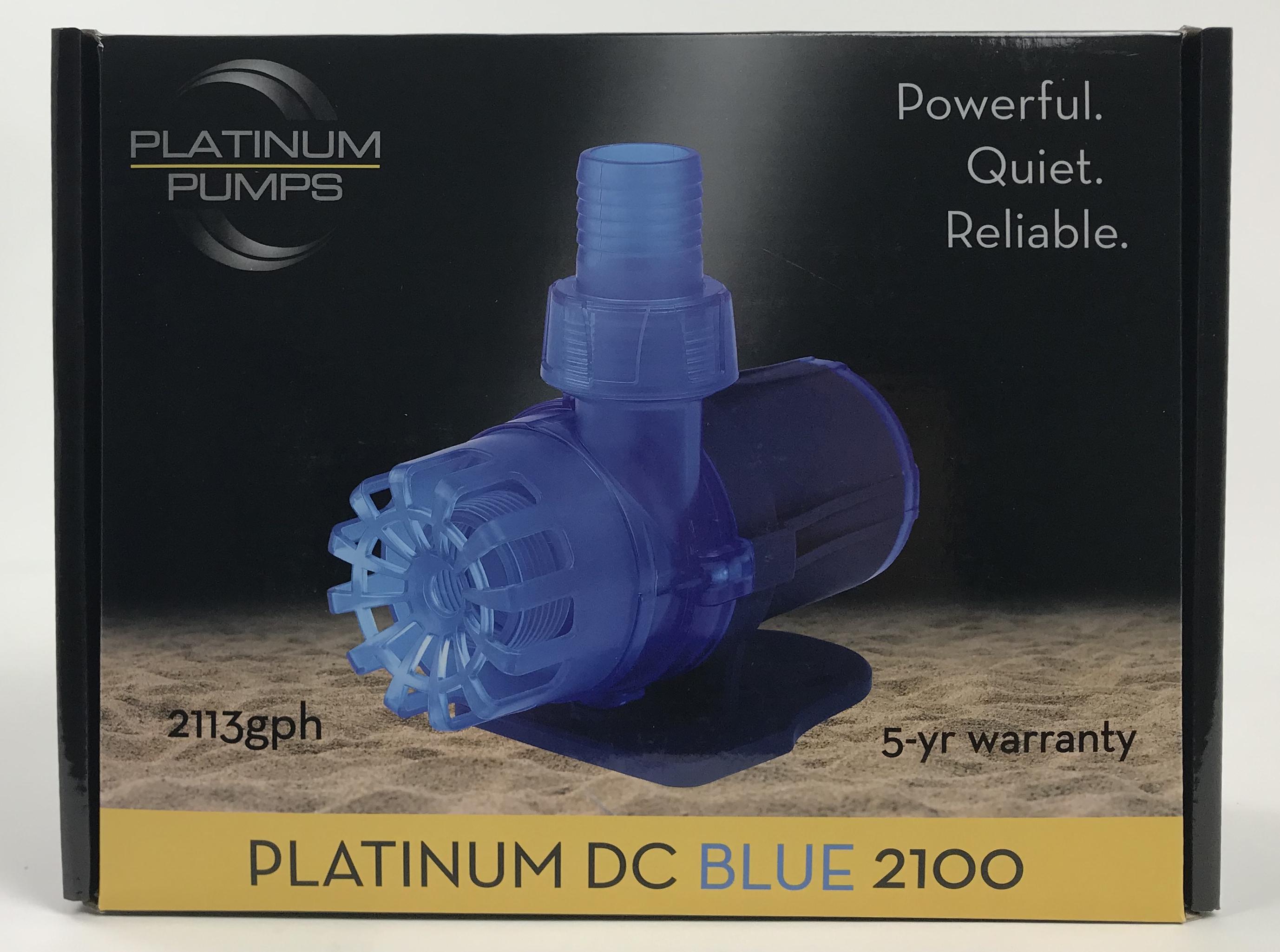 Platinum DC Blue 2100 Pump - 2113 gph