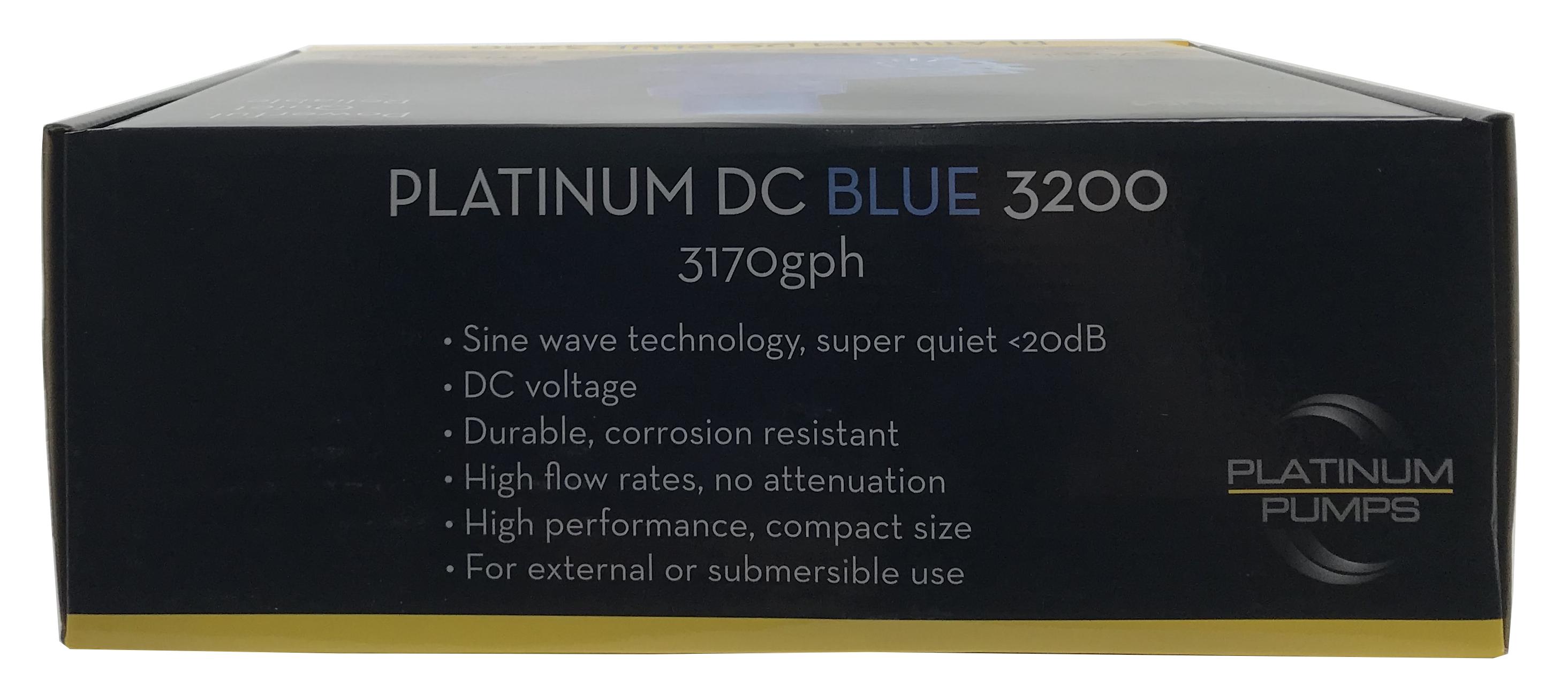 Platinum DC Blue 3200 Pump - 3170 gph