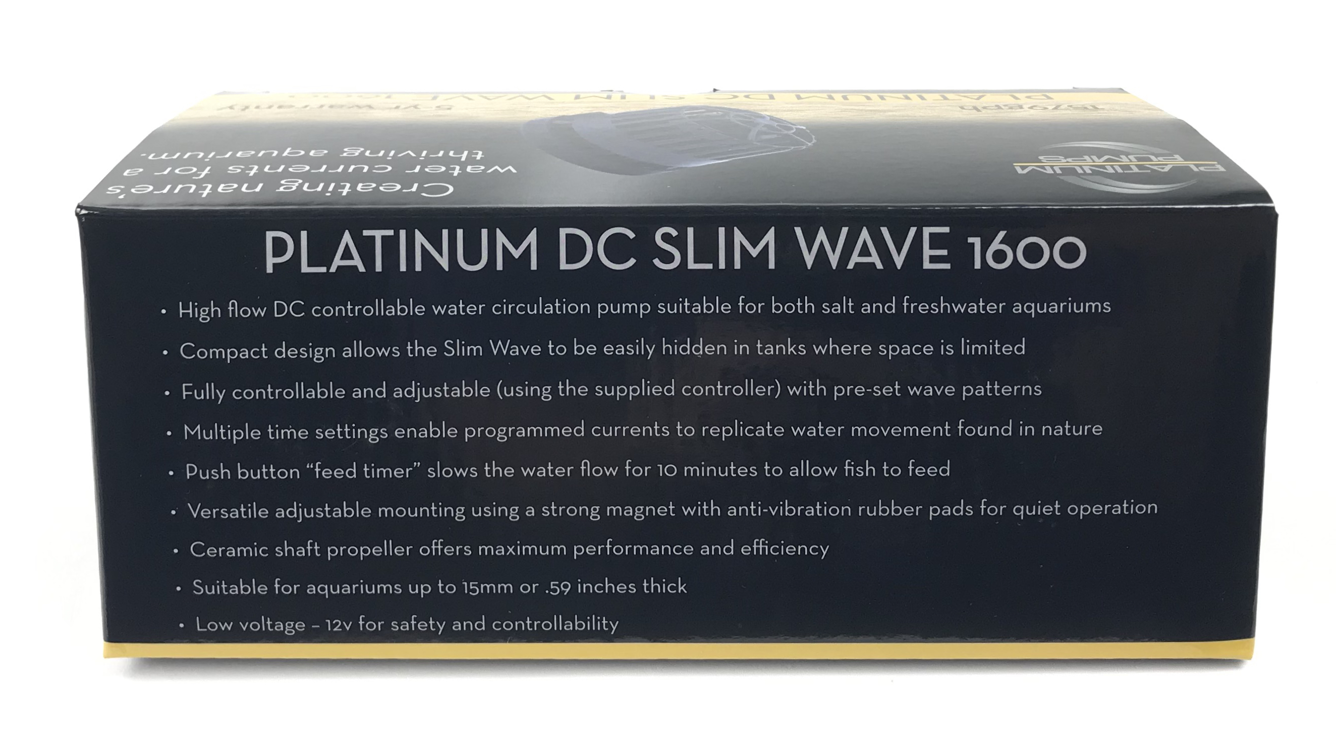 Platinum DC Slim Wave 1600 Pump - 1579 gph