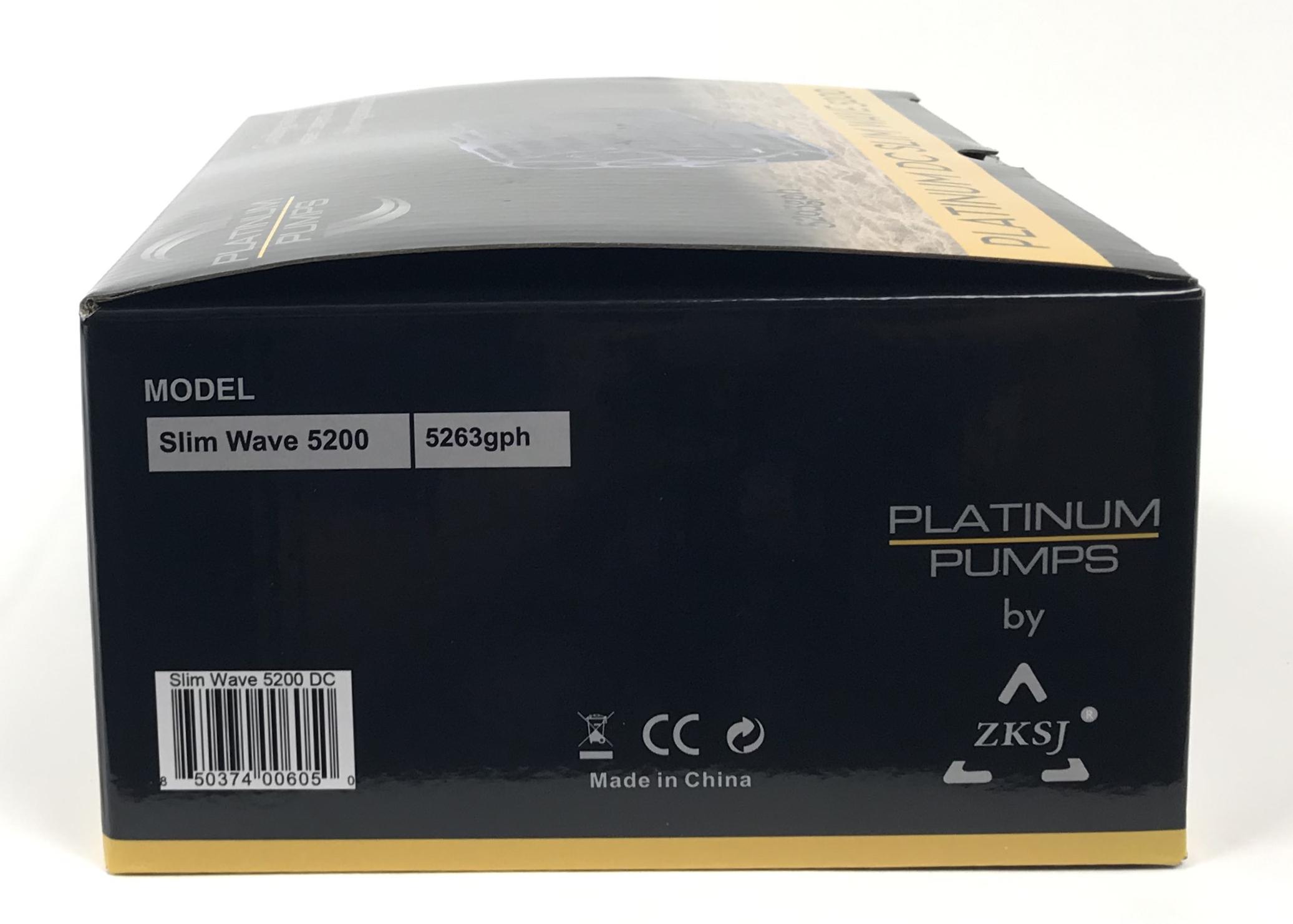 Platinum DC Slim Wave 5200 Pump - 5263 gph